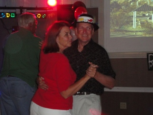 Howard and Linda dancing to Rocky Mountain High by John Denver