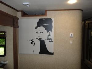 My Audrey Hepburn poster