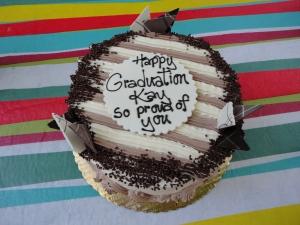 Kay's graduation cake