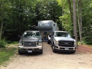 Jo and Ben's Trucks!!