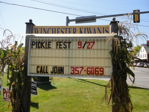 Call John cracks me up...you know it's a small town festival