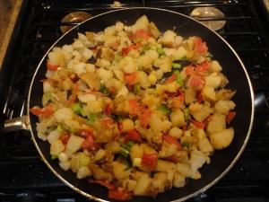 Potato - Pepperoni Hash