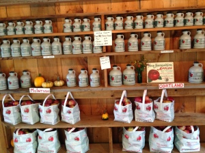 They sell fresh maple syrup also and pre-picked apples.