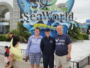 Us at Sea World