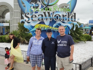Us at Sea World