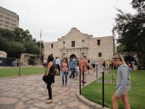 The Alamo...Lee loved it..so tiny