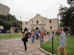 The Alamo...Lee loved it..so tiny