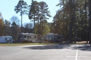 Campsite in Ebenezer State Park
