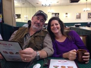 Steve and Deb at Anna J's