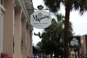 Magnolias Restaurant in the Historic District