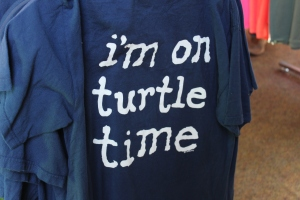 I bought this shirt because it made me think of DeDe my mother-in-law