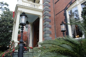 Real Gas Lights were everywhere in historic Charleston. Very cool