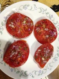 Tomatoes Viniagrette