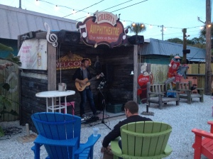 Musician at Crabby Bill's was amazing