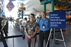 Dave worked for NASA as an engineer for 42 years and he answered some questions I had