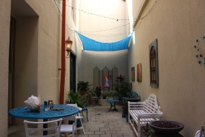 This courtyard was the neatest suprise, felt like I was in Morocco. The shop was in one of the oldest buildings in town