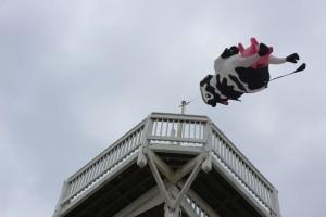 Giant cow kite