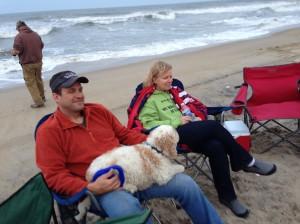 Greg, Hobi, and Cori having a great time