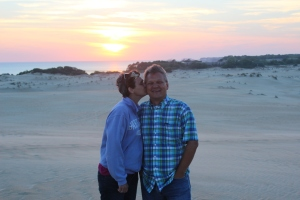 A little smooching on the dune.