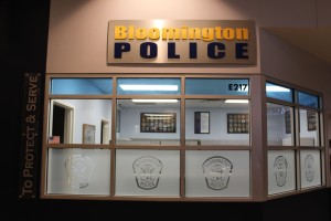 An it's own police station