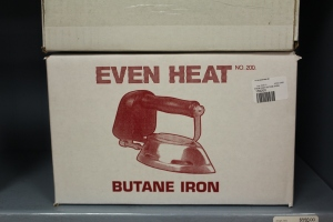 But I did love Butane iron ...VERY cool.