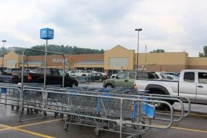 It was a standard Walmart