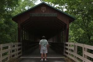 Lee at Dreamers Bridge