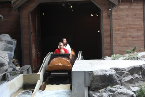 There's even a log ride