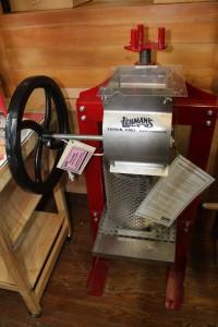 A cider press