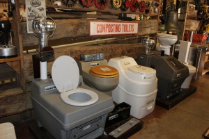 Compost toilets for my RV friends