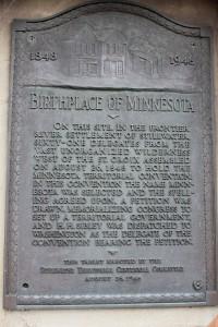 Birthplace of Minnesota
