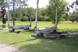 Lumber sled