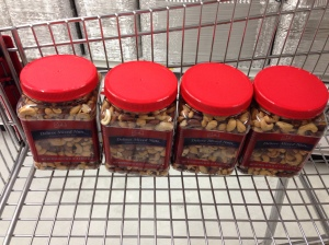 Linda's special mixed nuts
