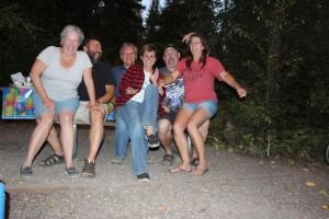 Ellen, Mario. Lee, me, Steve. and Deb being silly