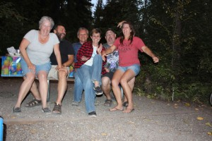 Ellen, Mario. Lee, me, Steve. and Deb being silly