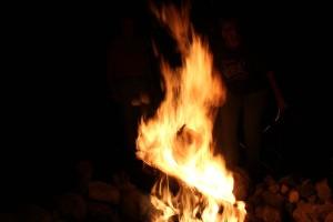 Nice big blaze