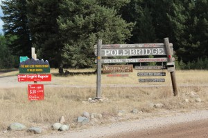 Polebridge, definitely worth a stop