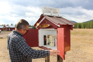 Lee loved the lending library