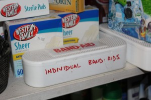 I loved the individual bandaids for sale