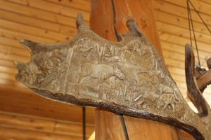 And this carved antler (not a real one)