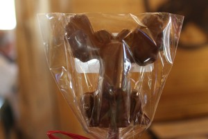 Lee bought me this yummy chocolate moose