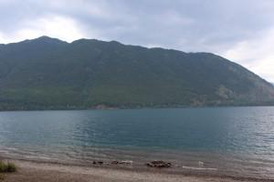 Lake McDonald next to campground