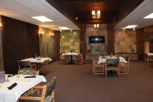 The restaurant was a nice steak house