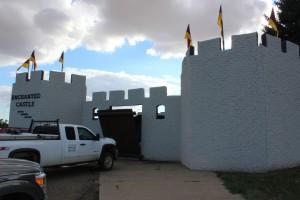 Enchanted Castle frony next door