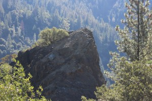 Huge boulders in Plumas NAtional Forest