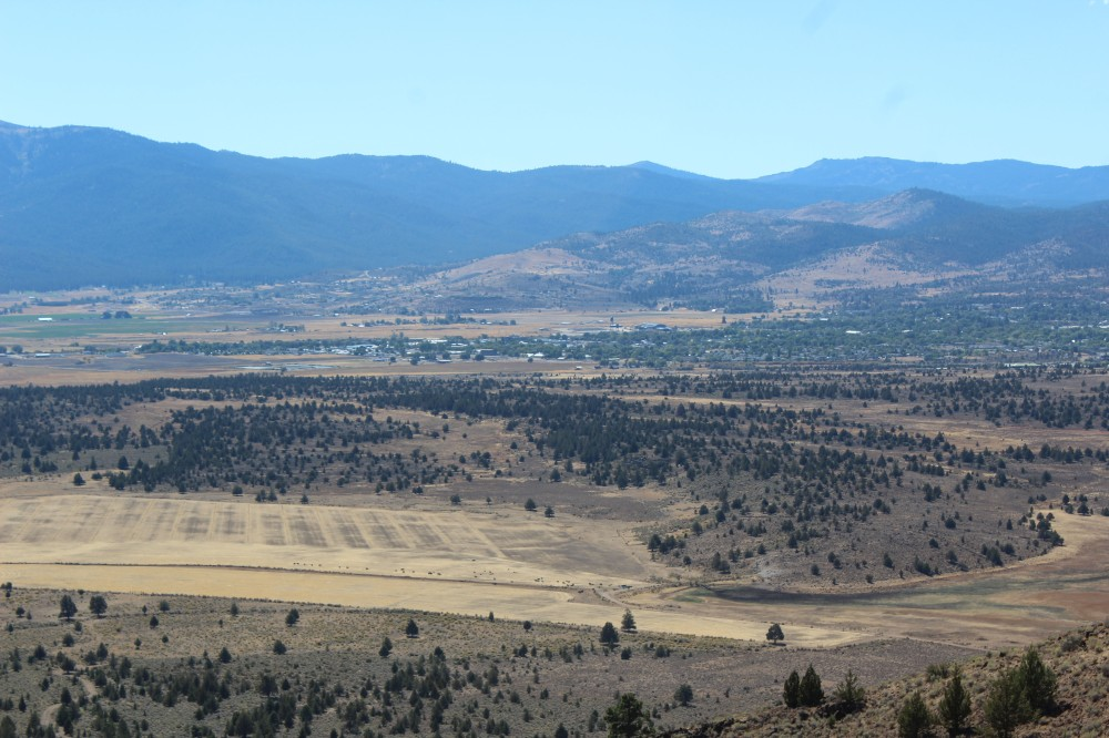 I did get this really good picture of Susanville when we were driving back