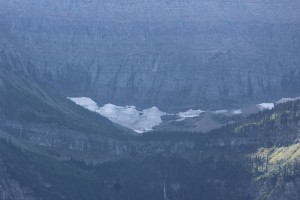 Nice shot of one of the glacier's