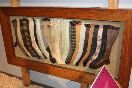 I liked the displays of stockings