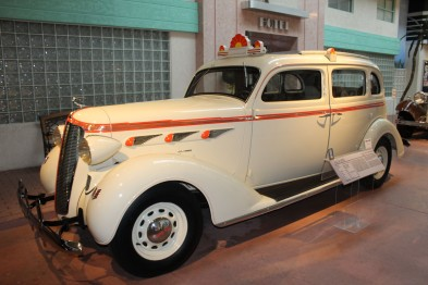The 1936 DeSoto taxicab was one of my favorites