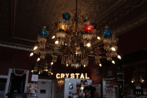 The chandeliers in the old saloons were amazing